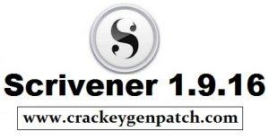 Scrivener 1.9.16 Crack With Keygen [Latest] Free Download
