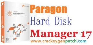 Paragon Hard Disk Manager 17.10.12 Crack [Win/Mac] Free Download
