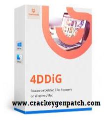 Tenorshare 4DDiG 7.6.3.12 Crack + Activation Key