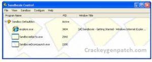 Sandboxie 5.49.7 Crack + License Key 2021 [Latest] Download