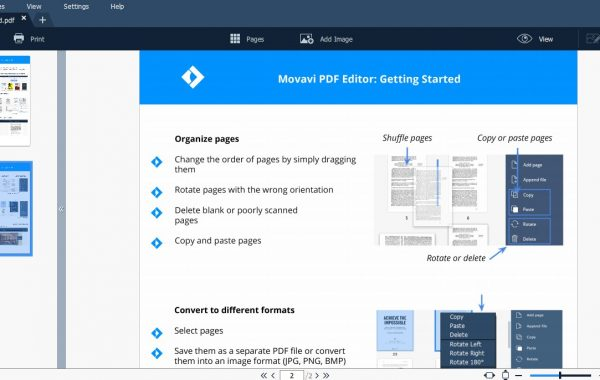 Movavi PDF Editor 3.2.6 Crack